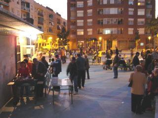 Vista general de la plaça